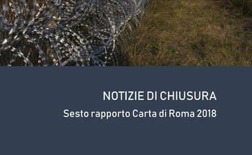 copertina Rapporto Carta di Roma 2018